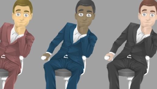 painted-businessman-mini